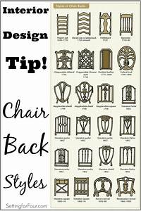 design and decor tip chair back styles setting for four With interior design styles and names
