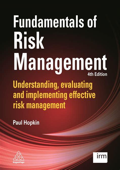 fundamentals  risk management