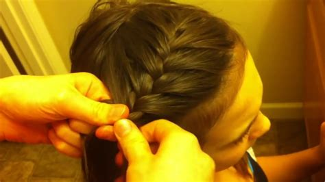 side french braid hair tutorial  beginners youtube