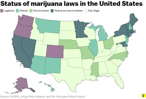 states voting for legalization of pot new highs marijuana now in alaska oregon and washington dc the verge