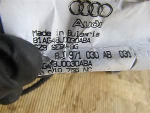 Audi Tt Mk2 8j Oem Door Wiring Harness  Right 8j0971030ab
