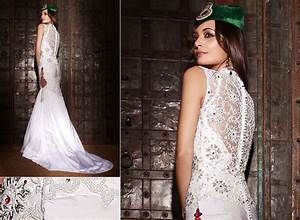 Indian style english wedding dress dress blog edin for Indian fusion wedding dress