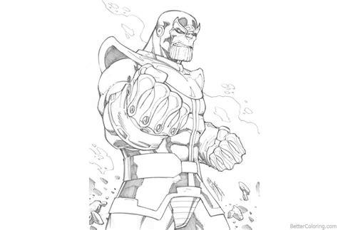 Coloring Pages Marvel Avengers Natashamillerweb