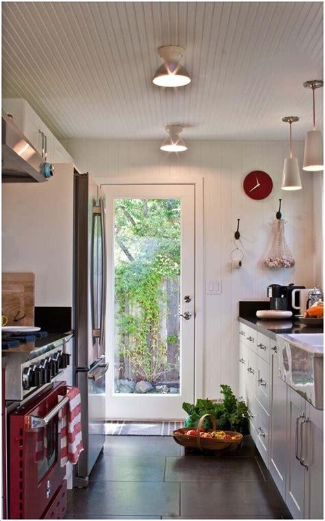 beautiful   kitchen exit doors