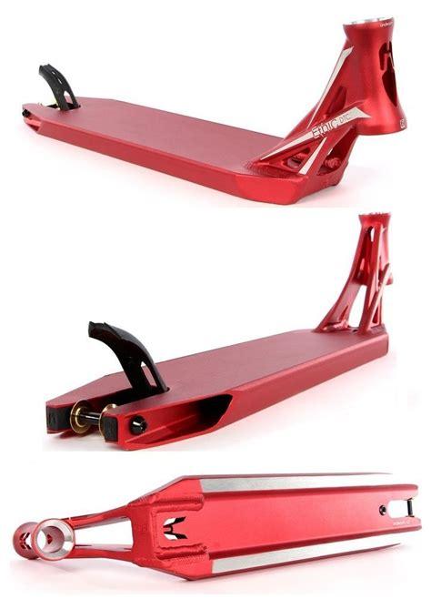 ethic scooter deck lindworm v2 red bonus free grip