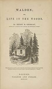 Walden - Wikipe... Thoreau Book Quotes