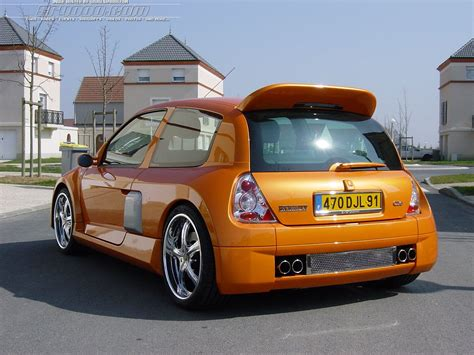 renault clio 2 tuning view of renault clio ii 1 6 photos features and tuning of vehicles bestautophoto