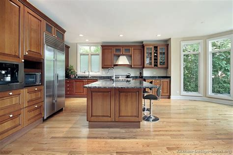 medium brown kitchen cabinets pictures of kitchens traditional medium wood cabinets 7421