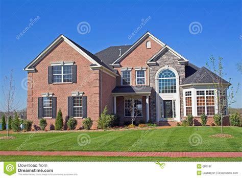 beautiful homes series  stock image image  abode