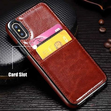65% off pu leather multifunctional kickstand case with card slot for iphone 6/6s plus 5.5 inch 4 reviews cod. Luxury Card Slot PULeather Phone Case for Apple iphone 7 8 6 S 6S Plus X XS Portable Credit Card ...