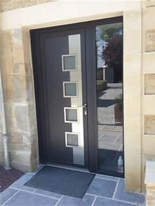 porte d39entree logikinov fenetres portes et pergolas a With porte d entrée contemporaine design