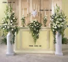altar flowers for wedding best 25 altar flowers ideas on delphinium wedding flower arrangements alter