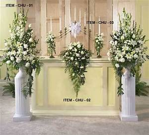 wedding floral arrangements wedding flower arrangements With wedding ceremony flower arrangements altar
