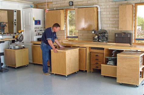 garage woodshop design    modular workshop