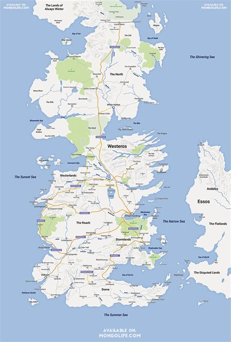 game  thrones map google maps style nerdist
