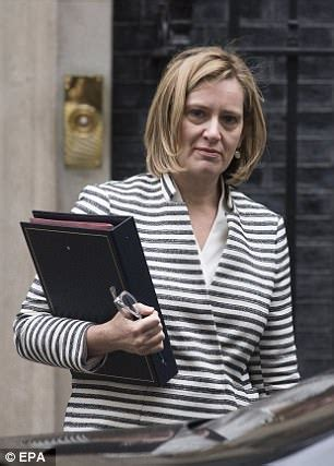 Amber Rudd hints at Cabinet splits over immigration ...