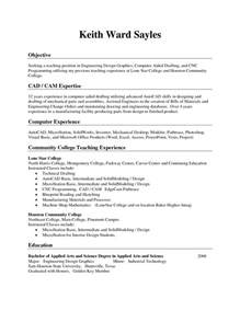 exles of resumes exle resume with no