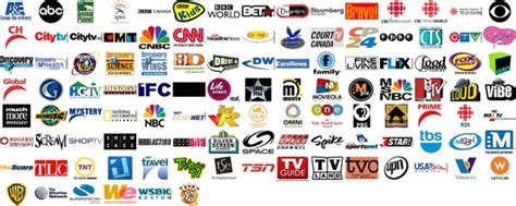 Daniel's Collection Of Honkin' Big Television Logos