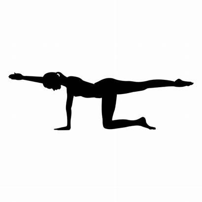 Yoga Pose Silueta Silhouette Svg Transparent Ioga
