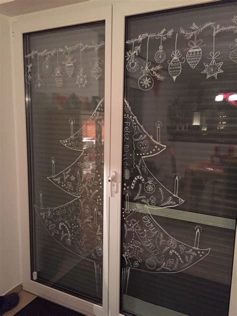 Weihnachtsdeko Fenster Kreidemarker by Kreidemarker Auf Fenster Ein Hoch Auf Die Vielen Tollen
