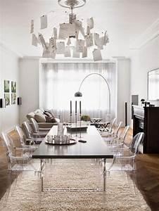 les 25 meilleures idees de la categorie chaise With salle À manger contemporaineavec chaises salle À manger transparentes