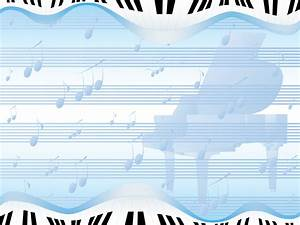 piano abstract powerpoint templates abstract blue With ppt music templates free download