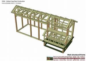 home garden plans: M200 - Chicken Coop Plans Construction