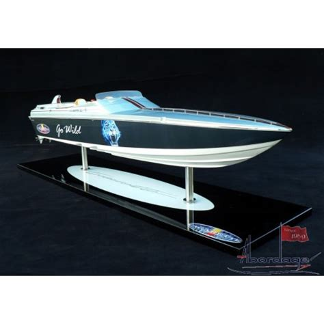 Wooden Cigarette Boats For Sale by Handcrafted Cigarette Go Racing Boat Model