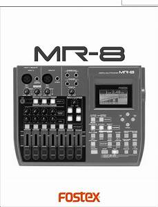 Fostex Musical Instrument Mr