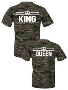 King and Queen Matching Couple Shirts