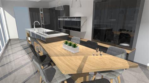 cuisine grise avec plan de travail noir cuisine noir plan de travail bois ncfor com