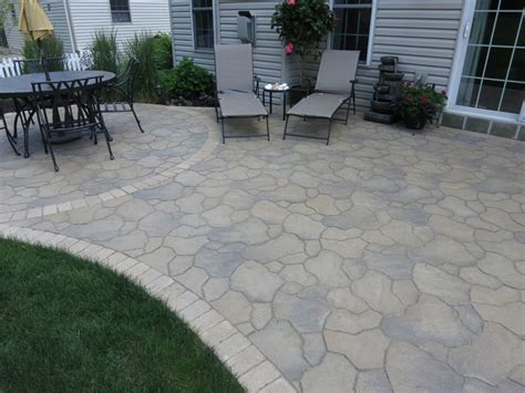 unilock flagstone flagstone and steppers rockford il benson co