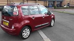 Citroen C3 Picasso Exclusive 1 6  Diesel  Manual  Red