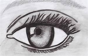 Dessin Facile Yeux : oeil r aliste un amour de dessin ~ Melissatoandfro.com Idées de Décoration