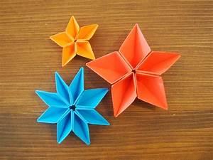Fleur En Origami Facile : moi je fais do it yourself tout le diy sur ~ Farleysfitness.com Idées de Décoration
