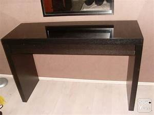 Coiffeuse Meuble Noir : simple photo image with coiffeuse ikea malm noir ~ Teatrodelosmanantiales.com Idées de Décoration