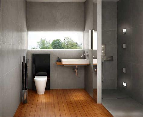 Badezimmer Begehbare Dusche by Badezimmer Natur Design Mit Gro 223 E Fenster 252 Ber Der Wanne
