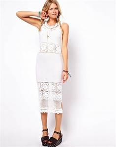 robes elegantes robe femme ete mi longue With robe été mi longue
