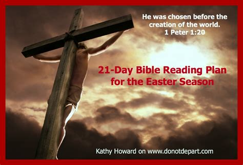 Count Down To Easter With This 21-day Bible Reading Plan