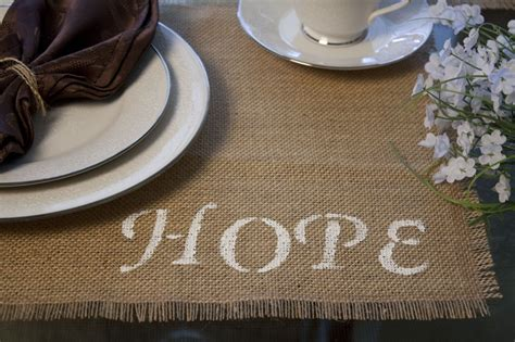 diy burlap placemats guide patterns