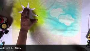 Stoff Zum Bemalen : stoff bemalen mit dem marabu fashion spray youtube ~ A.2002-acura-tl-radio.info Haus und Dekorationen