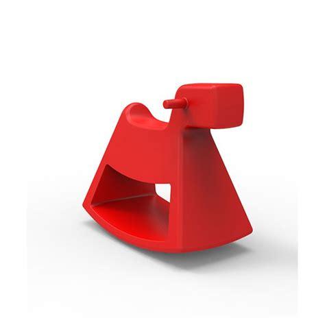 chaise design a bascule chaise à bascule rosinante pour enfants jardinchic