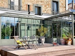 verandas 7 idees lumineuses maison travaux With lovely deco mur exterieur maison 4 decoration mur veranda