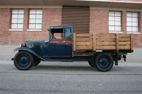 Find Used 1929 Chevrolet Stake Bed 1-1/2 Ton Truck Older