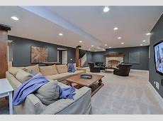 Drew & Nicole's Basement Remodel Pictures Home