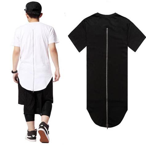 tshirt kaos t shirt swag summer hip hop t shirt back zipper swag polyester o