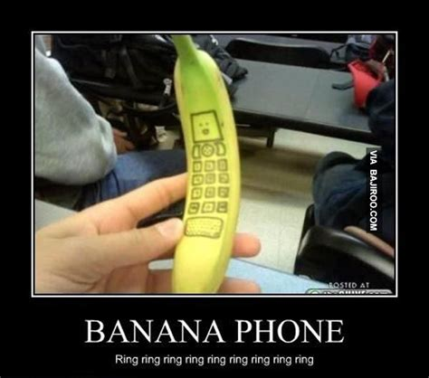 Banana Phone Meme - pin by sue hannaby on funnies pinterest