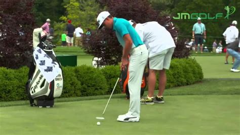 Rickie Fowler Putting Stroke Slow Motion Youtube