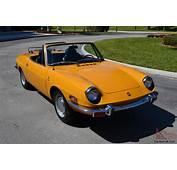 1970 Fiat 850 Sport Spider  Original Collector Quality Car