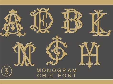 interlocking monogram font google search